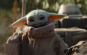 Bébé Yoda sur Magic Leap One