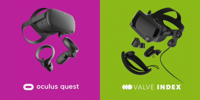 Rupture de stock Oculus Quest Valve Index