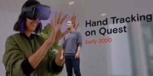 SideQuest applications avec suivi des mains Oculus Quest