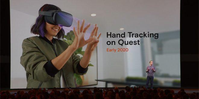 Suivi des mains Oculus Quest