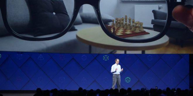 Facebook brevets réalité augmentéee