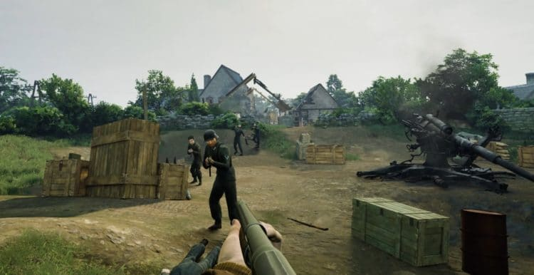 Medal of Honor : Above and Beyond violence