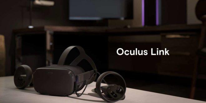 Câble Oculus Link officiel disponible