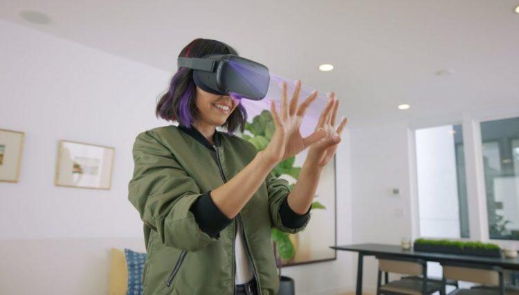 Suivi des mains Oculus Rift S