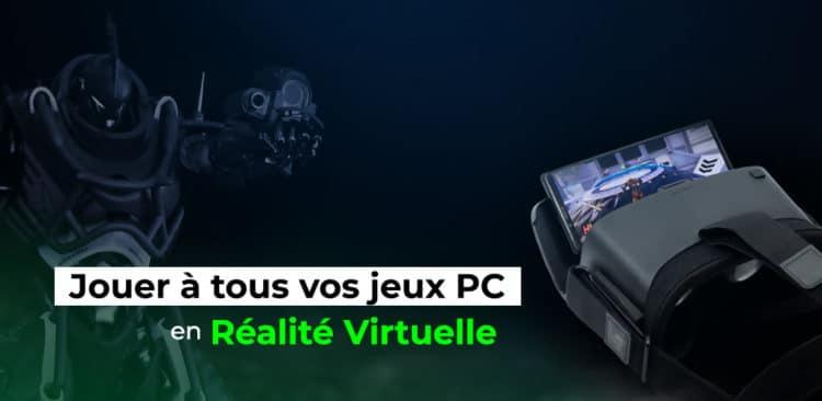 REXR jeux classiques en réalité virtuelle