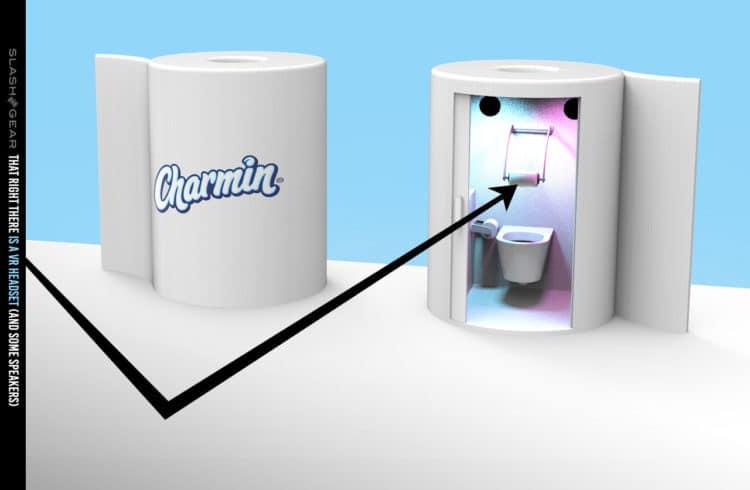 Charmin réalité virtuelle toilettes