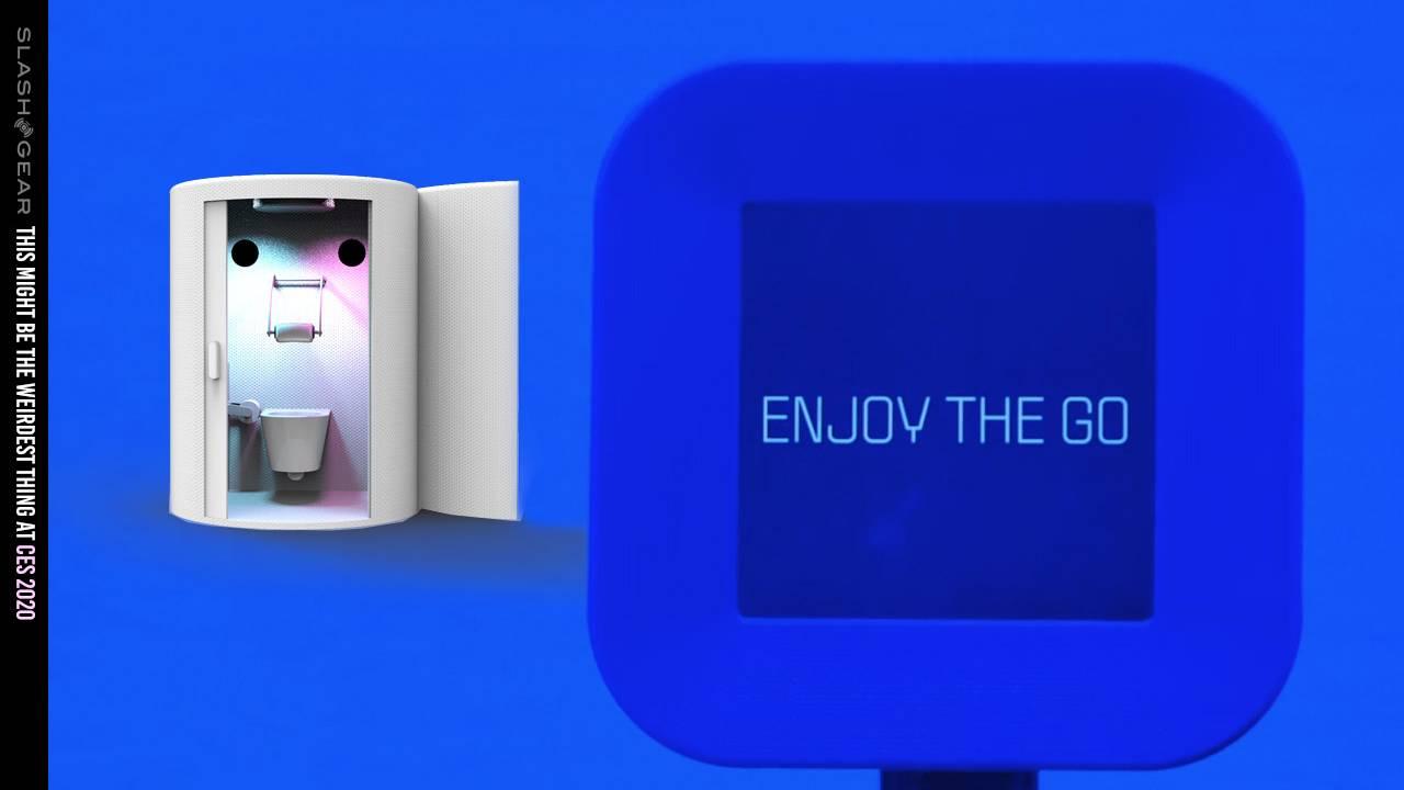 Charmin VR toilettes