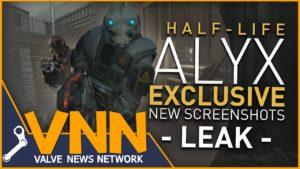 half life alyx leak