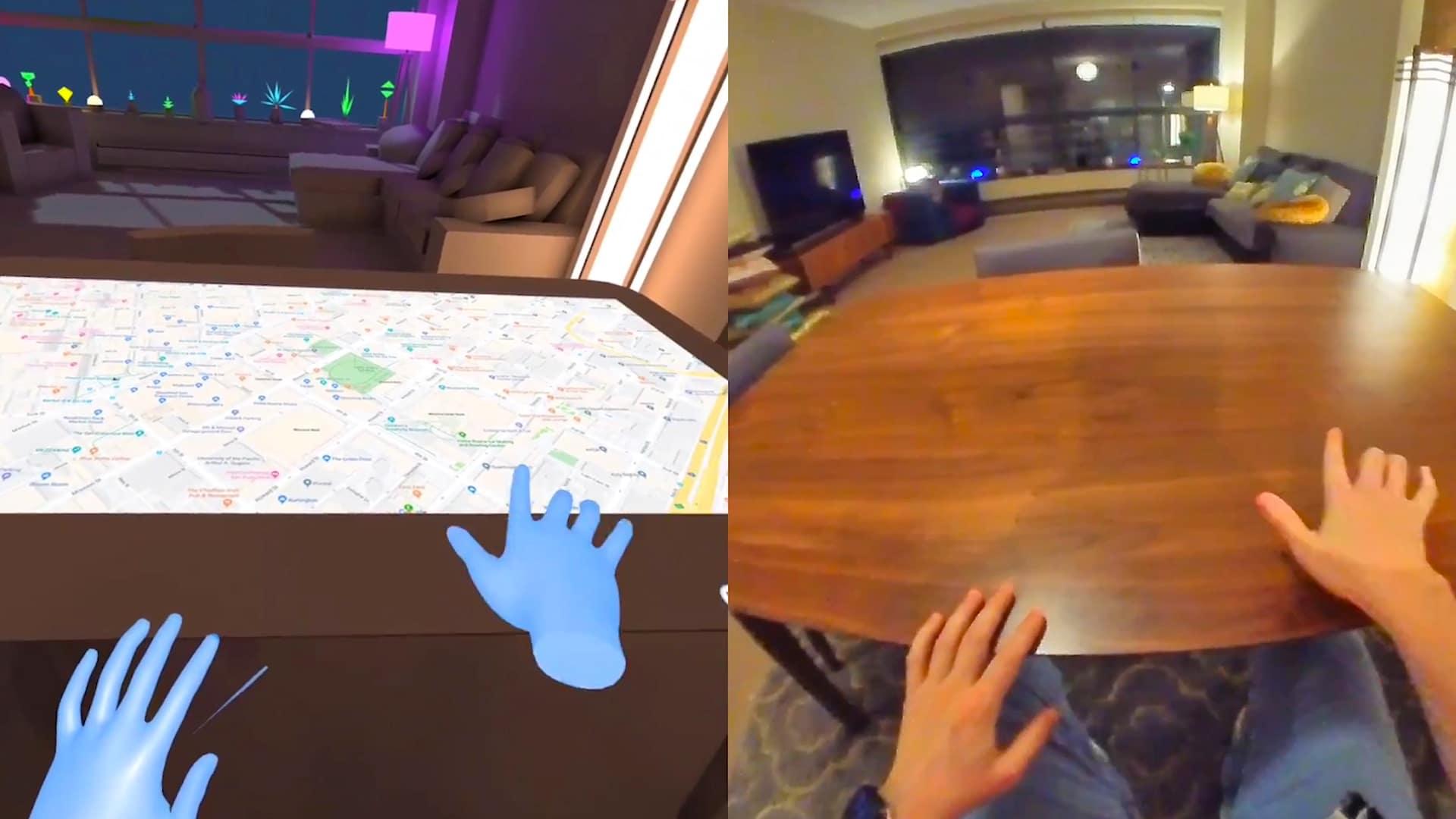 oculus quest appartement