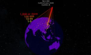 coronavirus évolution épidémie VR