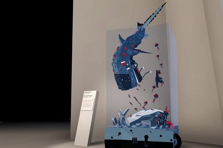 Oeuvre d'art VR Romain Revert