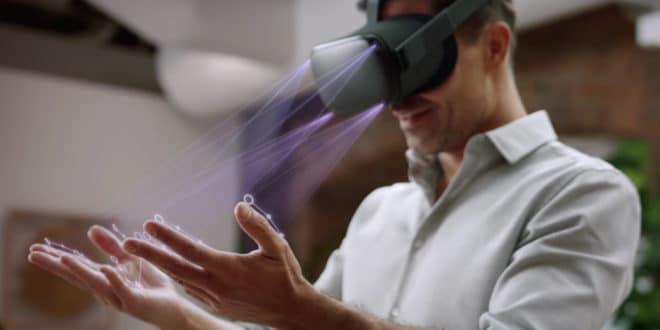 Hand-tracking automatique Oculus Quest