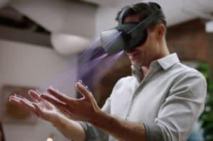Skateboarding avec les doigts hand-tracking Oculus Quest