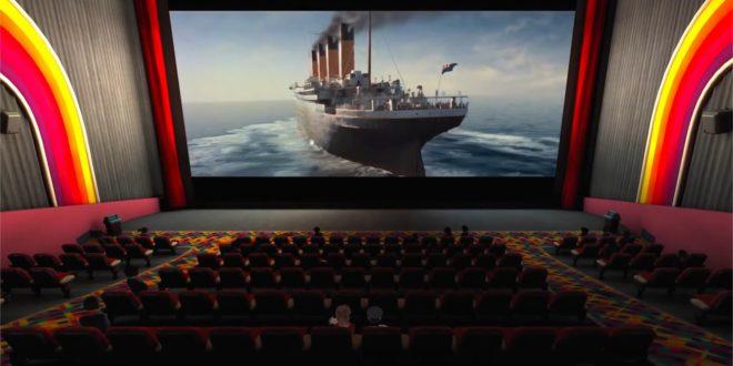 BigScreen Titatnic 3d réalité virtuelle