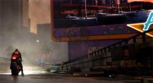 Cyberpunk 2077 réalité virtuelle