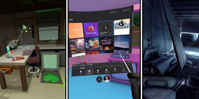 oculus quest custom environnements