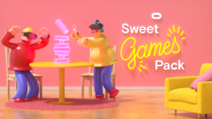 Sweet Games Pack promotions Saint Valentin Oculus Quest