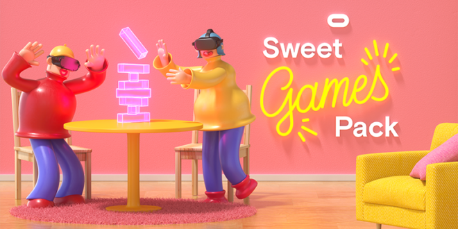 Sweet Games Pack promotions Saint Valentin Oculus Quest