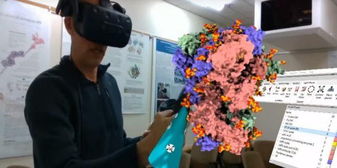 modelisation 3D Virus CHimeraX