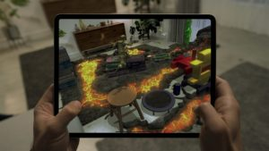 L'iPad Pro se dote d'un scanner LiDAR pour prendre le lead en AR