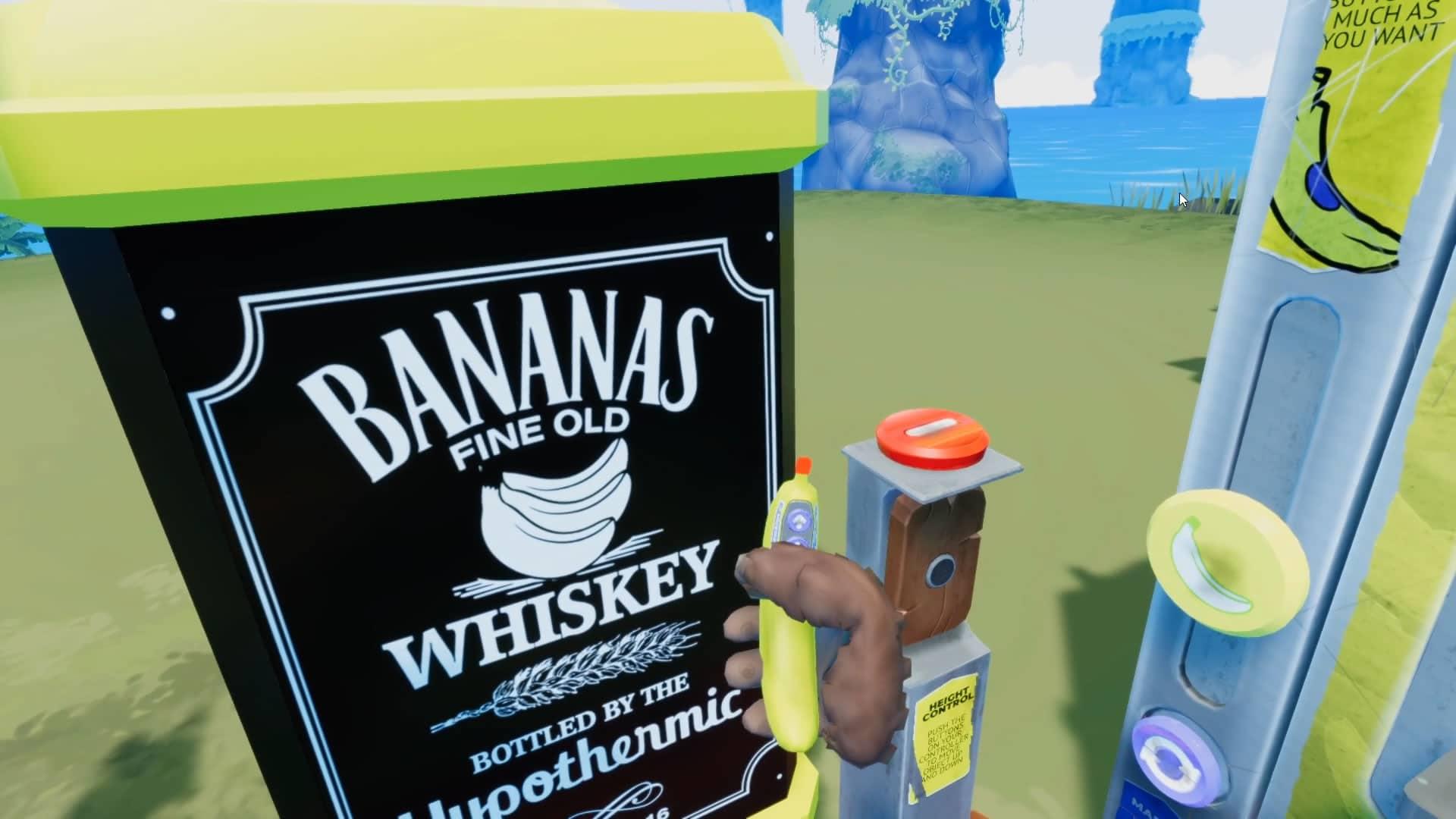 Banana for Scale jeu en réalité virtuelle délirant