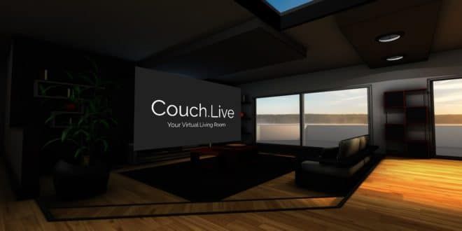 couch live, application vr
