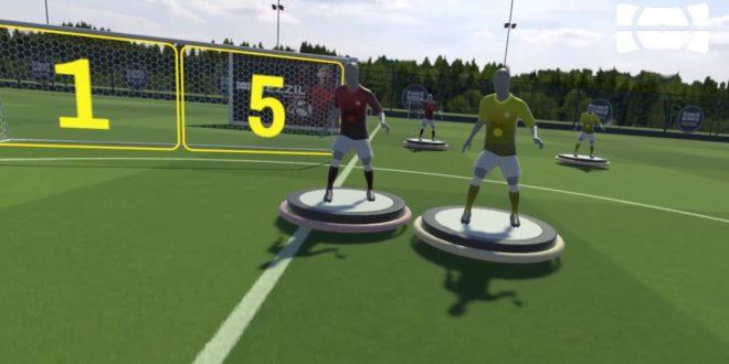 Confinement : Les joueurs de la Premier League s'entraînent en VR - Réalité-Virtuelle.com