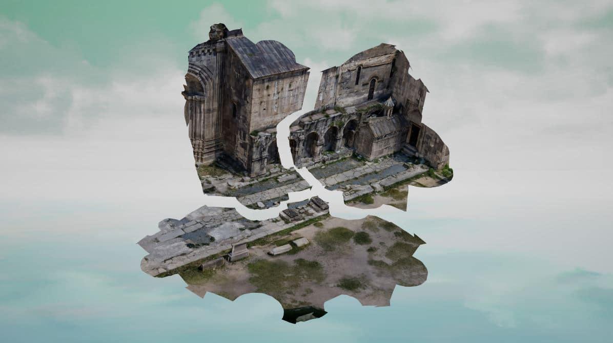 Puzzling Places, jeu de puzzle vr sur SideQuest