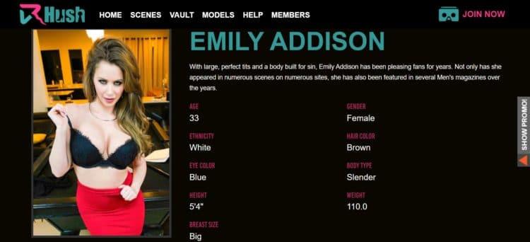 capture d'écran du site porno vr vrhush