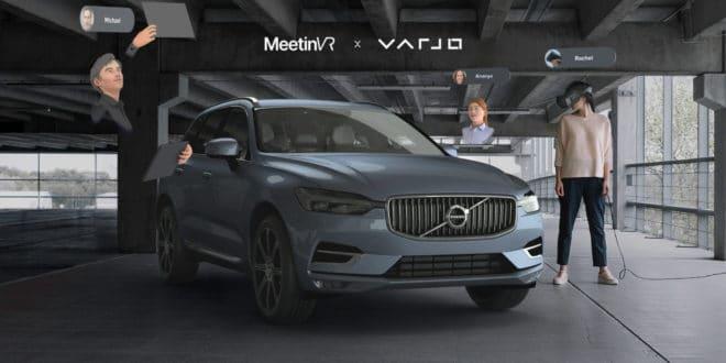 Varjo et MeetinVR