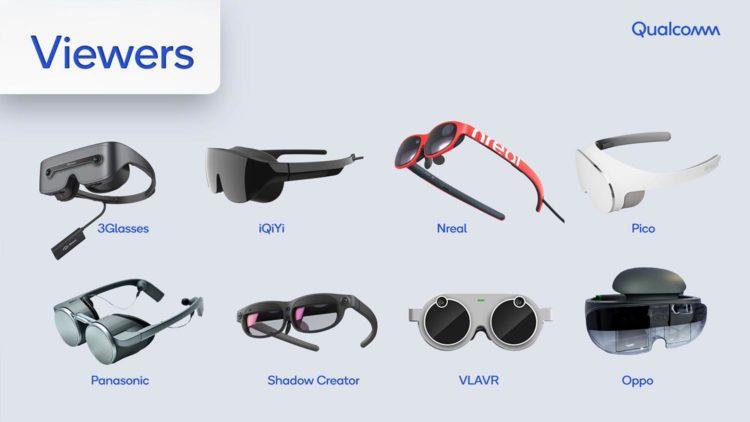lunettes XR viewers de qualcomm