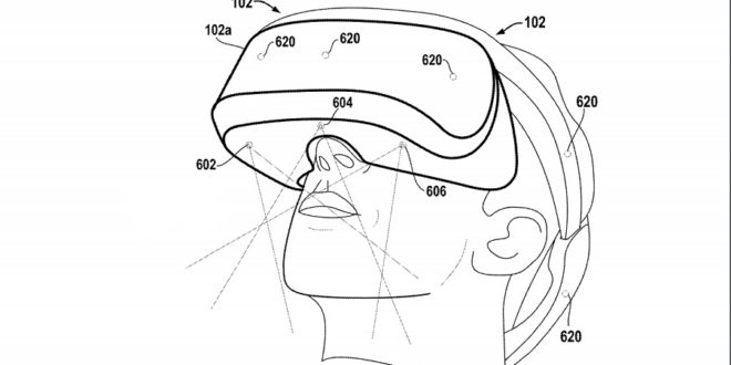 sony face tracking patent