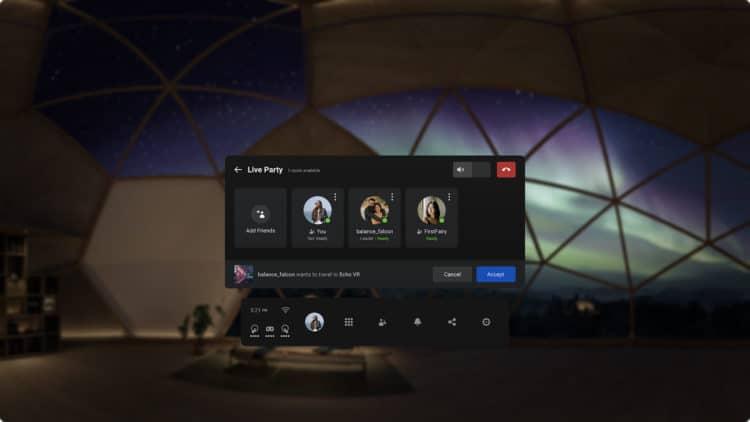Oculus nous présente de nouvelle façon de jouer avec ses amis