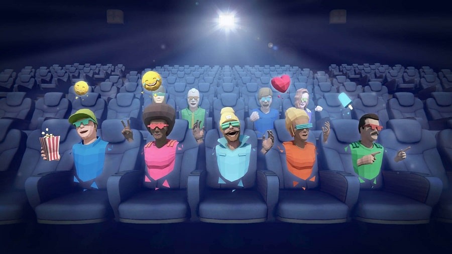 spectateurs cinéma virtuel