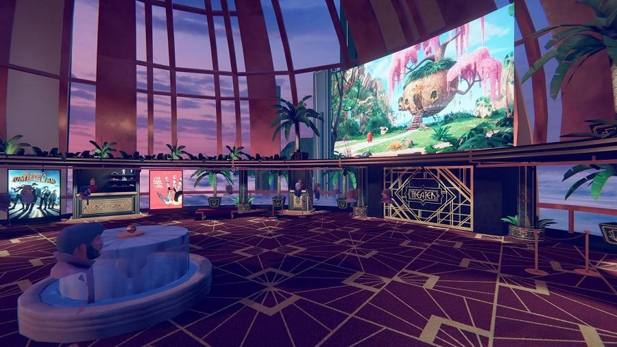 lobby cinevr