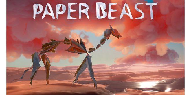 jeu VR paper beast bientôt sur pc vr