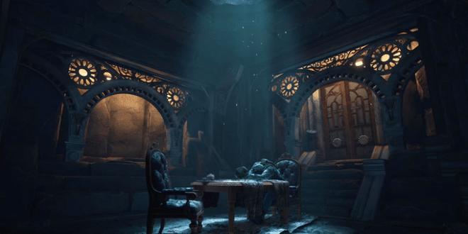 jeu vr firmament par le studio Cyan derrière Myst