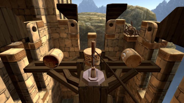 démo du jeu vr Eye of the Temple