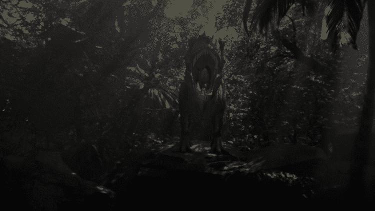 goner, jeu survival horror en vr avec dinosaures