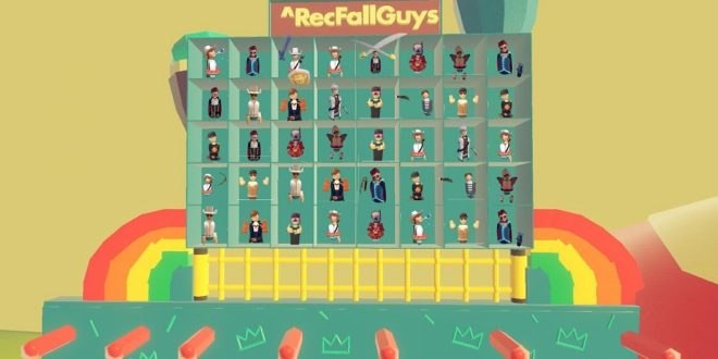 fall guys fan made en vr