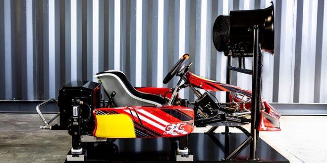 simulateur vr de karting avec retour haptique