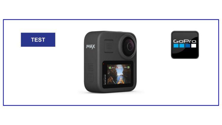 Test GoPro Max 360