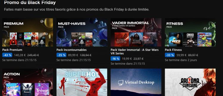 black friday oculus 2020