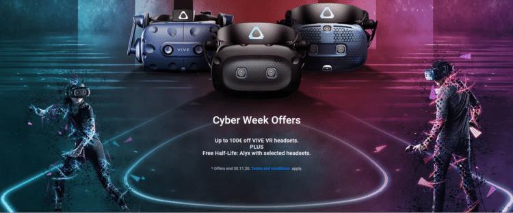 htc vive black friday cyber week