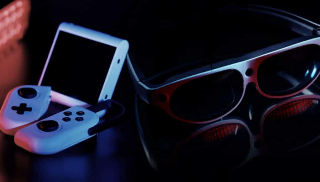 lunettes ar nintendo switch