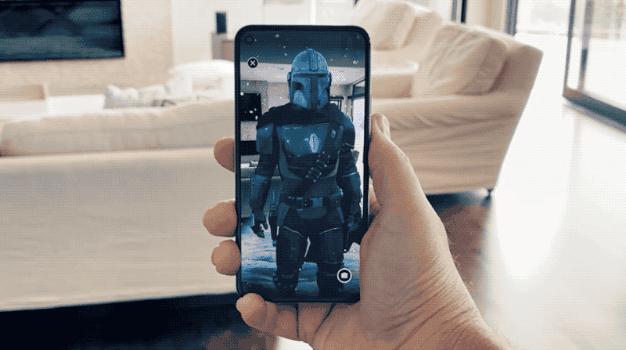 Google AR Mandalorian