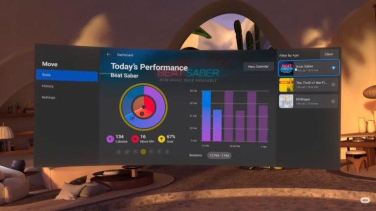 oculus move mise à jour oculus quest 2