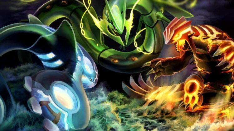 pokémon légendaires hoenn