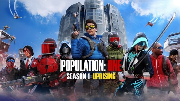 population one saison 1 uprising