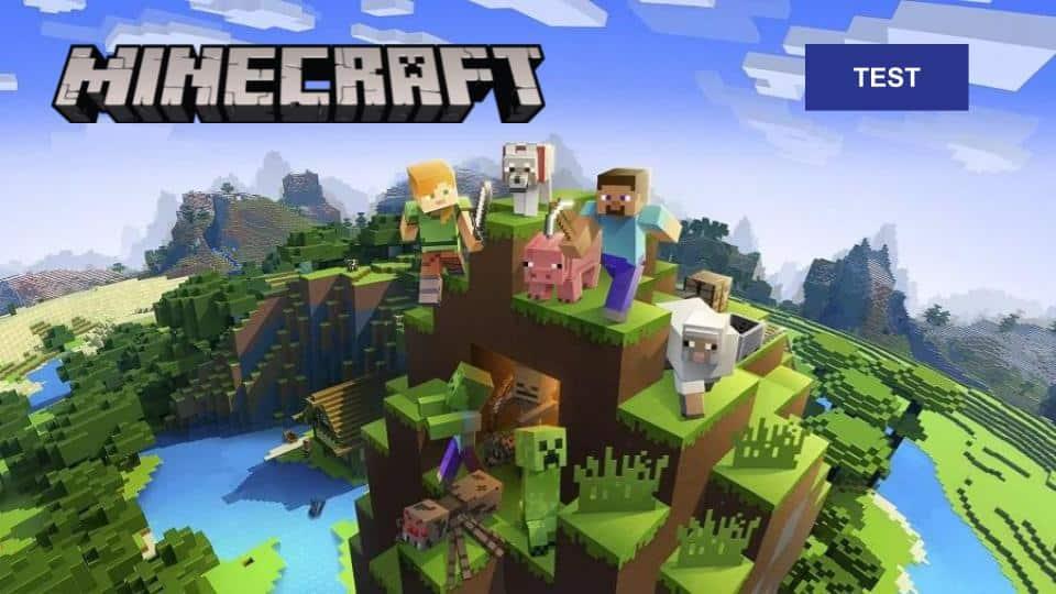 Test Minecraft PSVR